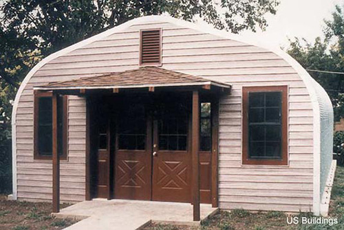 Steel buildings residential metal buildings from u s for Small metal barn homes