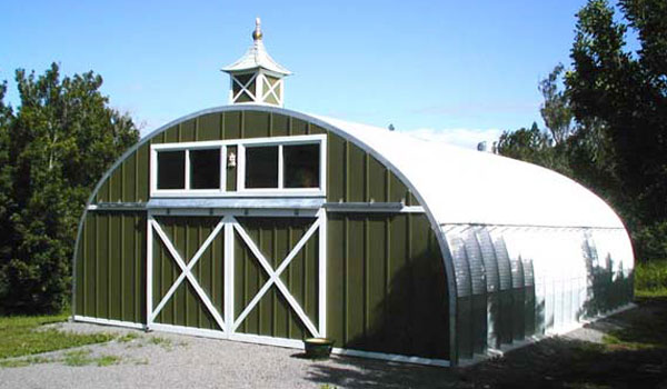 Steel Dairy Barns