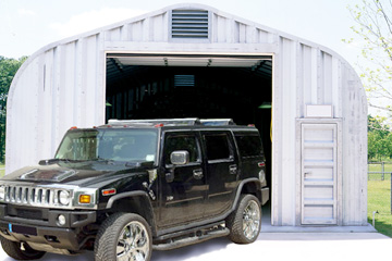 Steel Automotive Buildings