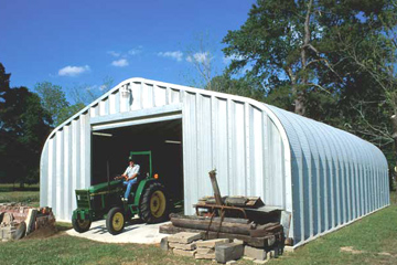 Our steel buildings are strong, durable, and an economic option for agricultural storage