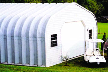 Steel Garage Buildings