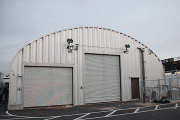 Commercial Steel Arch Building